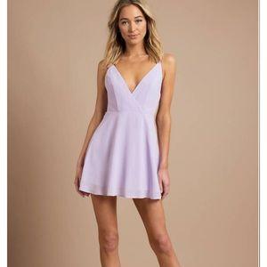Light Purple Short Dress